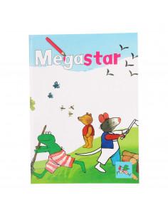 Kikker Megastar Kleurboek