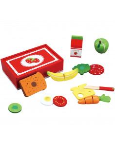 Lunchbox Aardbei