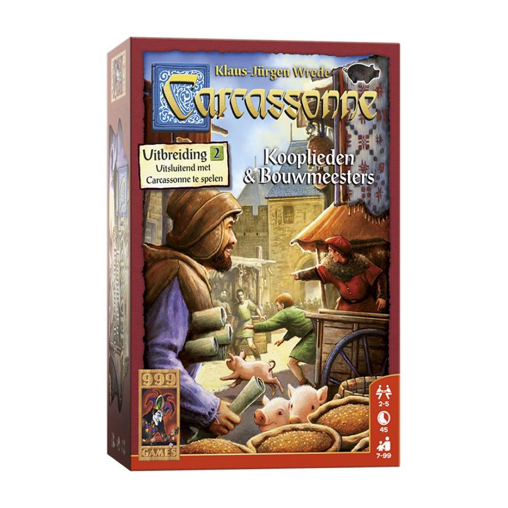 Carcassonne Uitbreiding Kooplieden en Bouwmeesters