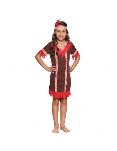 Kinderkostuum Indiaan, 7-9 jaar