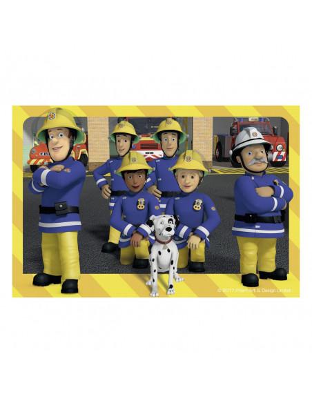 Blokpuzzel Brandweerman Sam, 6st.