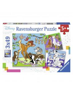 Disney Vrienden Puzzel, 3x49st.