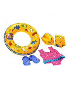 Poppen Zwemset, 35-45 cm