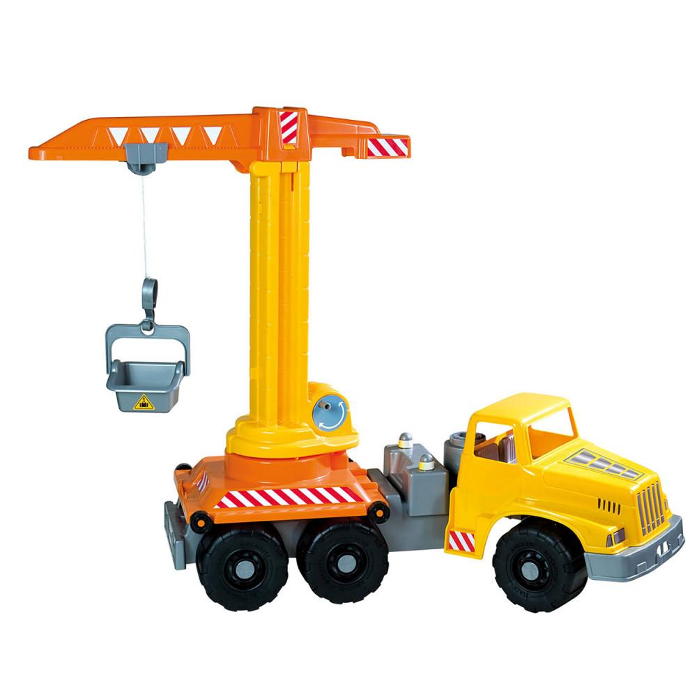 Vrachtwagen met Hijskraan