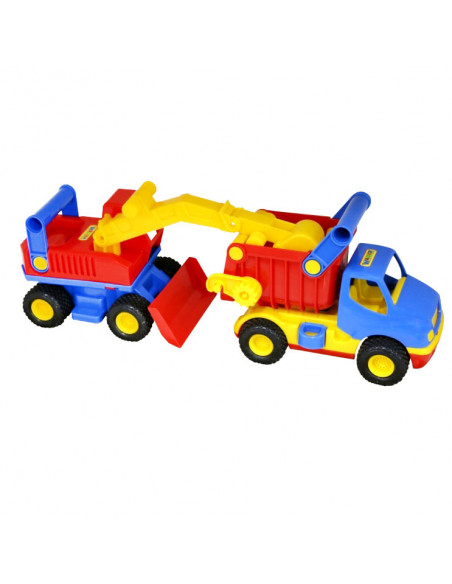 Polesie Truck met Graafmachine
