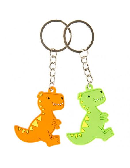 Sleutelhanger Dinosaurus Lachgezicht