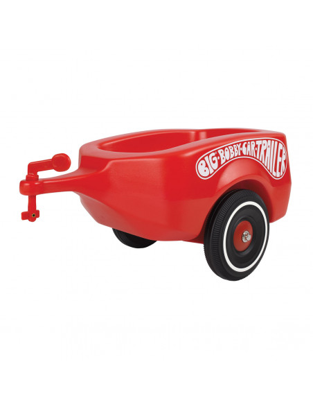 BIG Bobby Car Trailer Rood