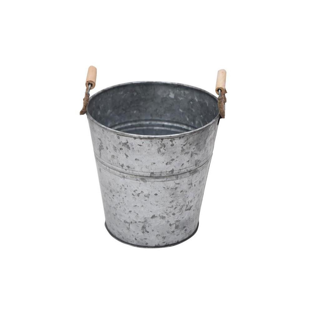 Bloempot Zink, 17 cm