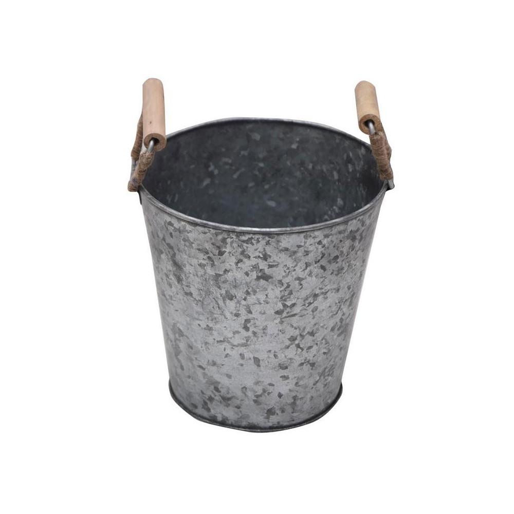 Bloempot Zink, 20 cm