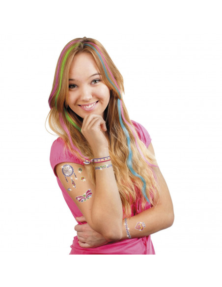 Totum Glitter Tatoeages en Haarkrijt