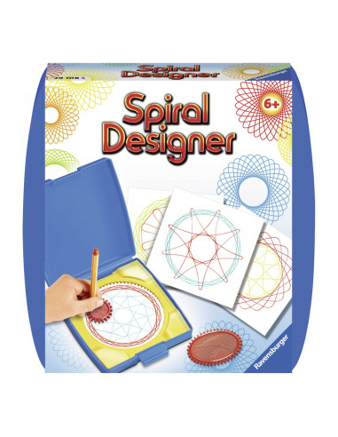 Spiral-Designer Mini - Blauw