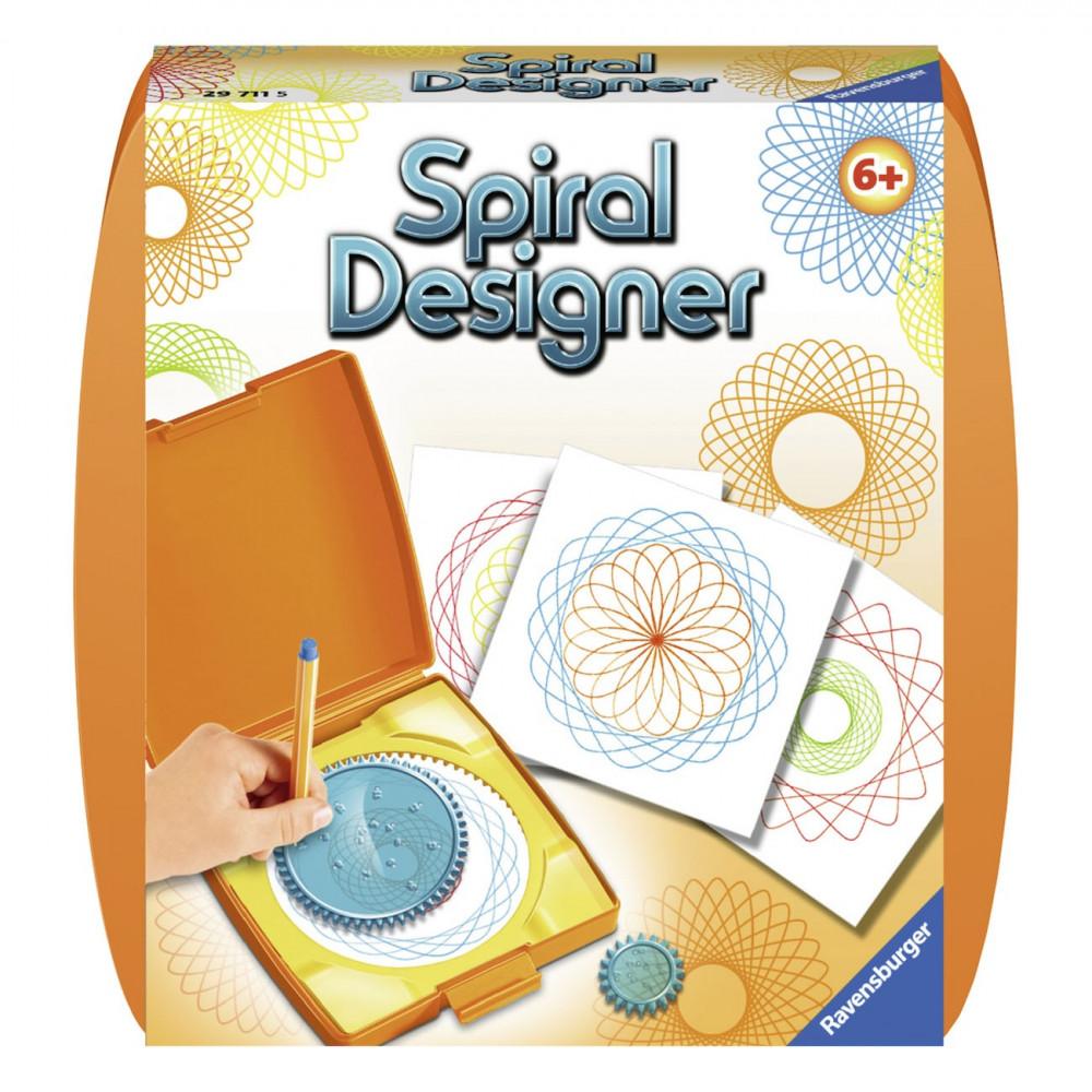 Spiral-Designer Mini - Oranje