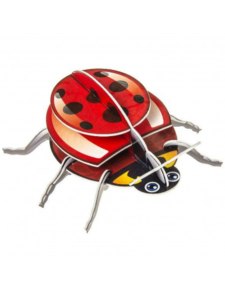 3D Puzzel Insecten