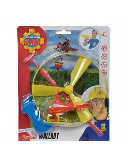 Brandweerman Sam Afschiet Helikopter Wallaby