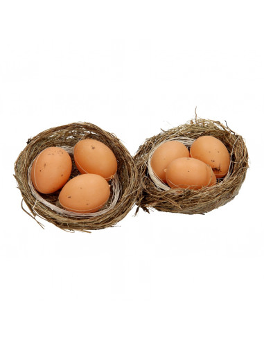 Eiernestjes, 2 st.