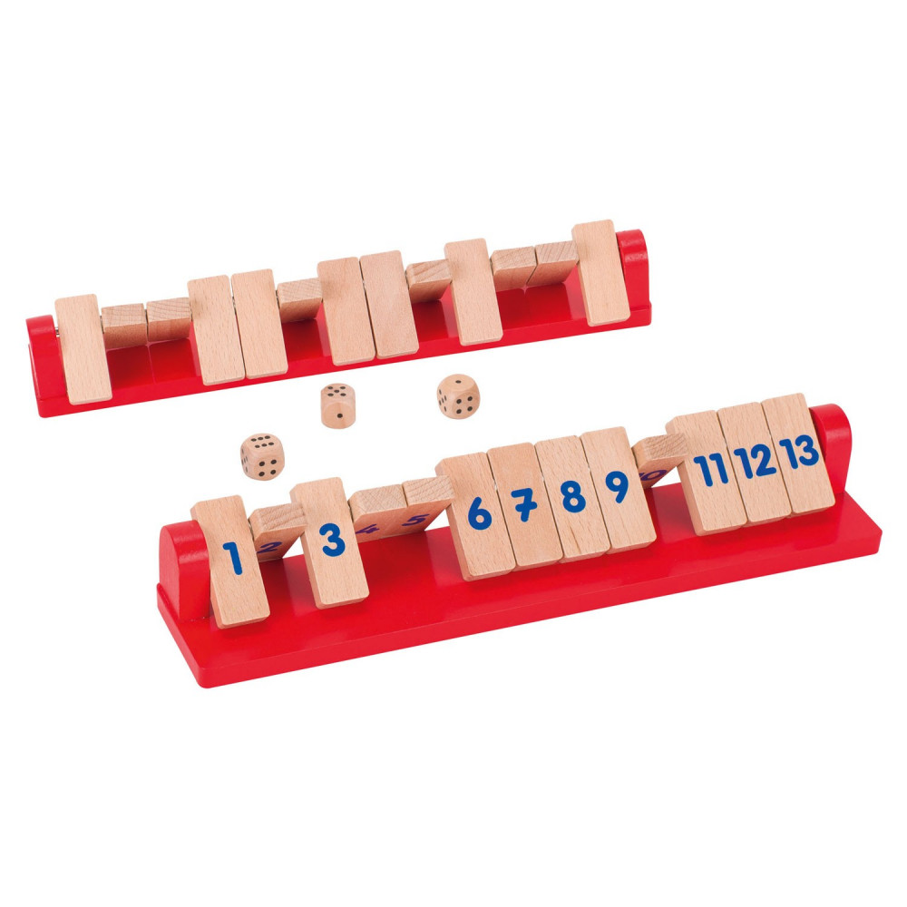 Shut the Box Tricky 13, 2 spelers