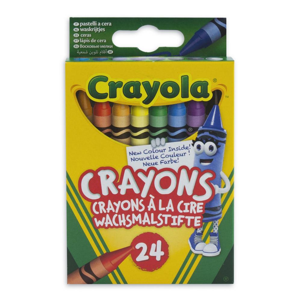 Crayola Waskrijtjes, 24st.