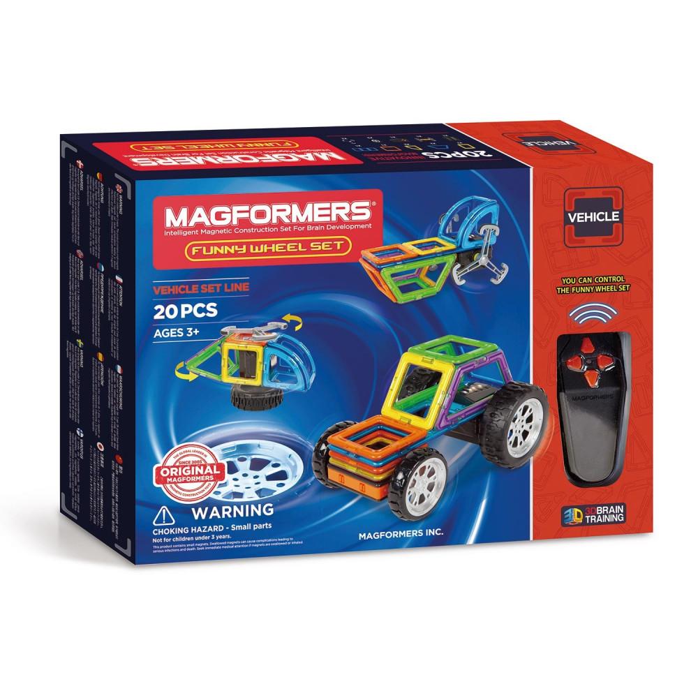 Magformers Wielen Set, 20dlg.