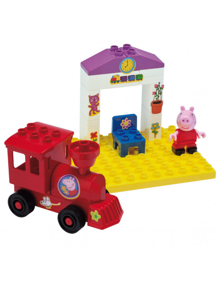 PlayBIG Bloxx Peppa Pig Treinhalte
