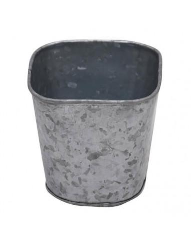 Bloempot Zink Vierkant, 10 cm