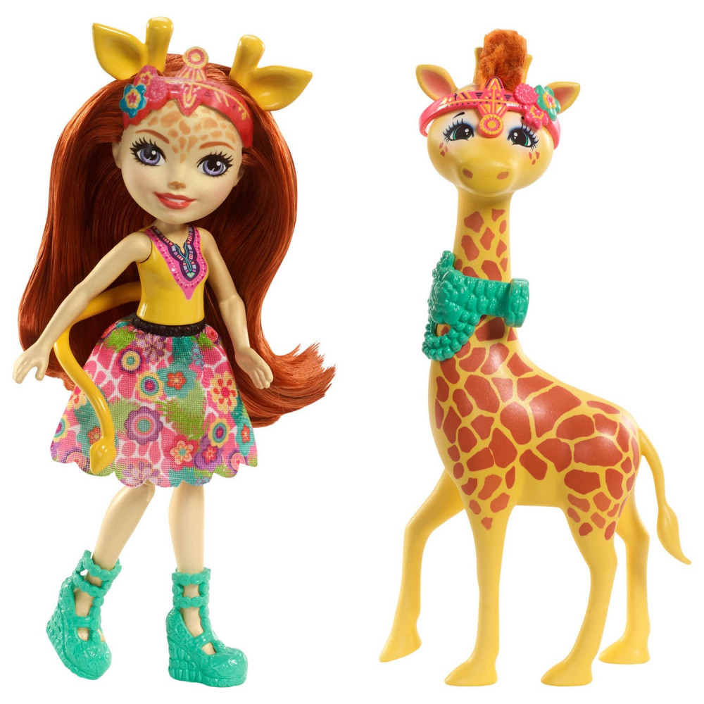 Enchantimals Grote Dieren -  Gillian Giraffe