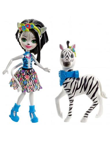 Enchantimals Grote Dieren - Zebra