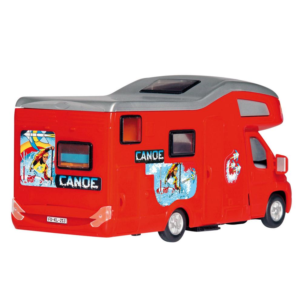 Camper Van Rood BT