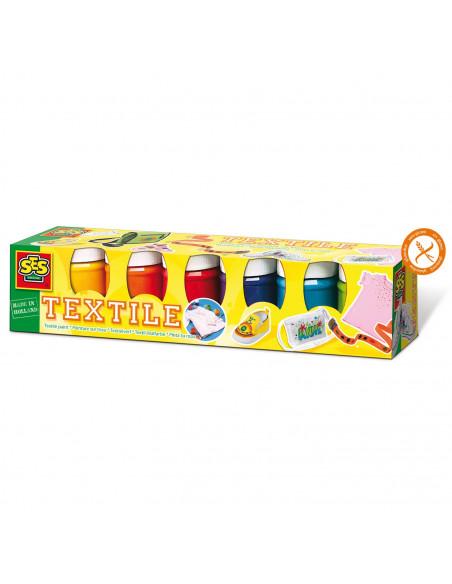 SES Trendy Textielverf, 6 Kleuren