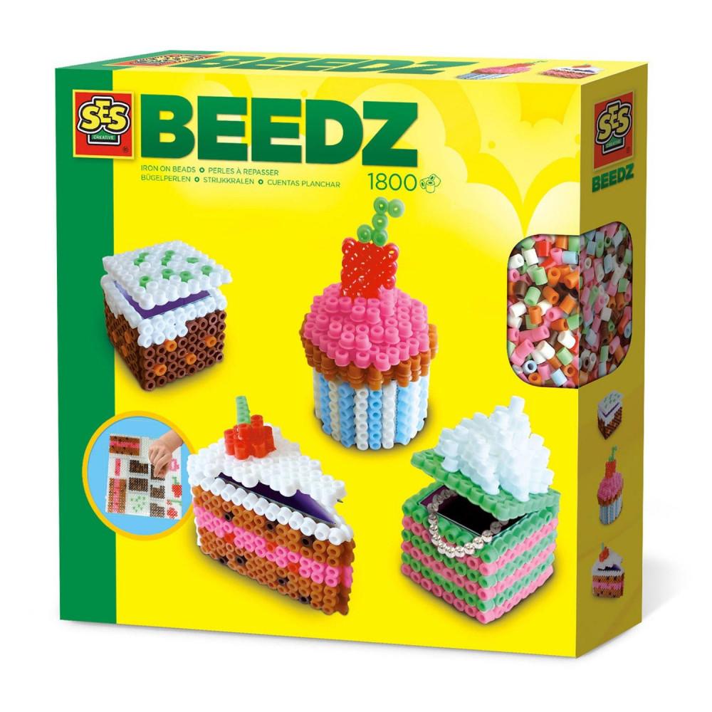 SES Beedz - Strijkkralen 3D Taartjes