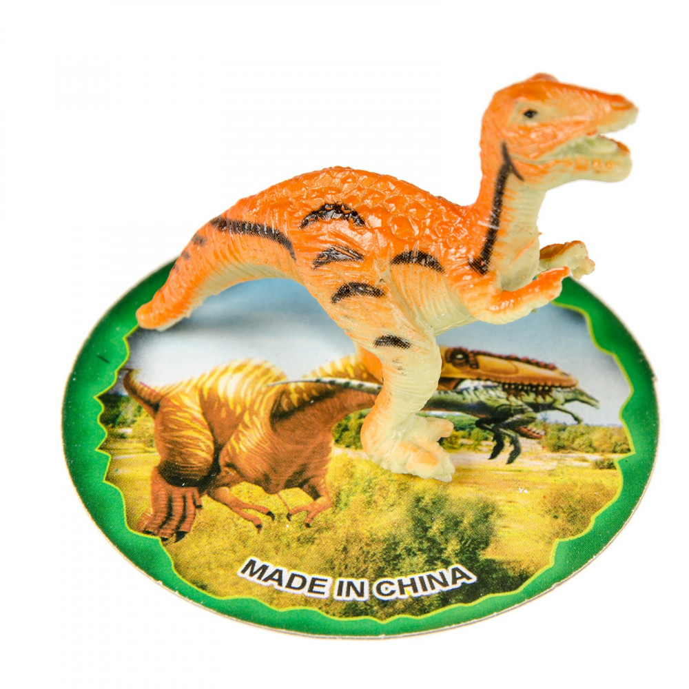 Mini Dinosaurus met Kaart