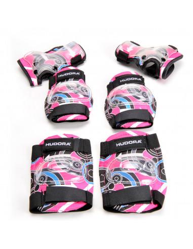Hudora Beschermset Roze - Maat M