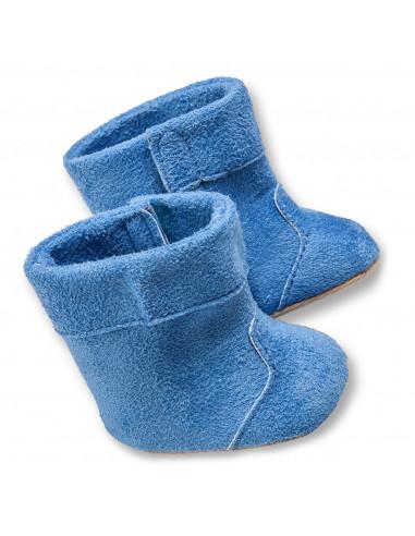 Poppenschoenen Blauw, 38-45 cm