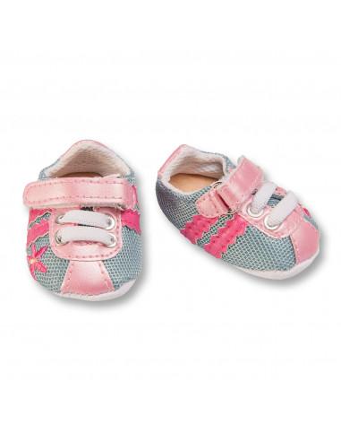 Poppen Sportschoenen Roze/Grijs,...
