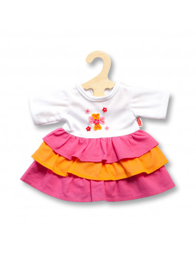 Poppenjurk Pinky, 28-35 cm
