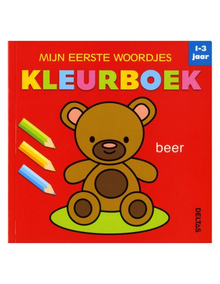 Mijn Eerste Woordjes Kleurboek