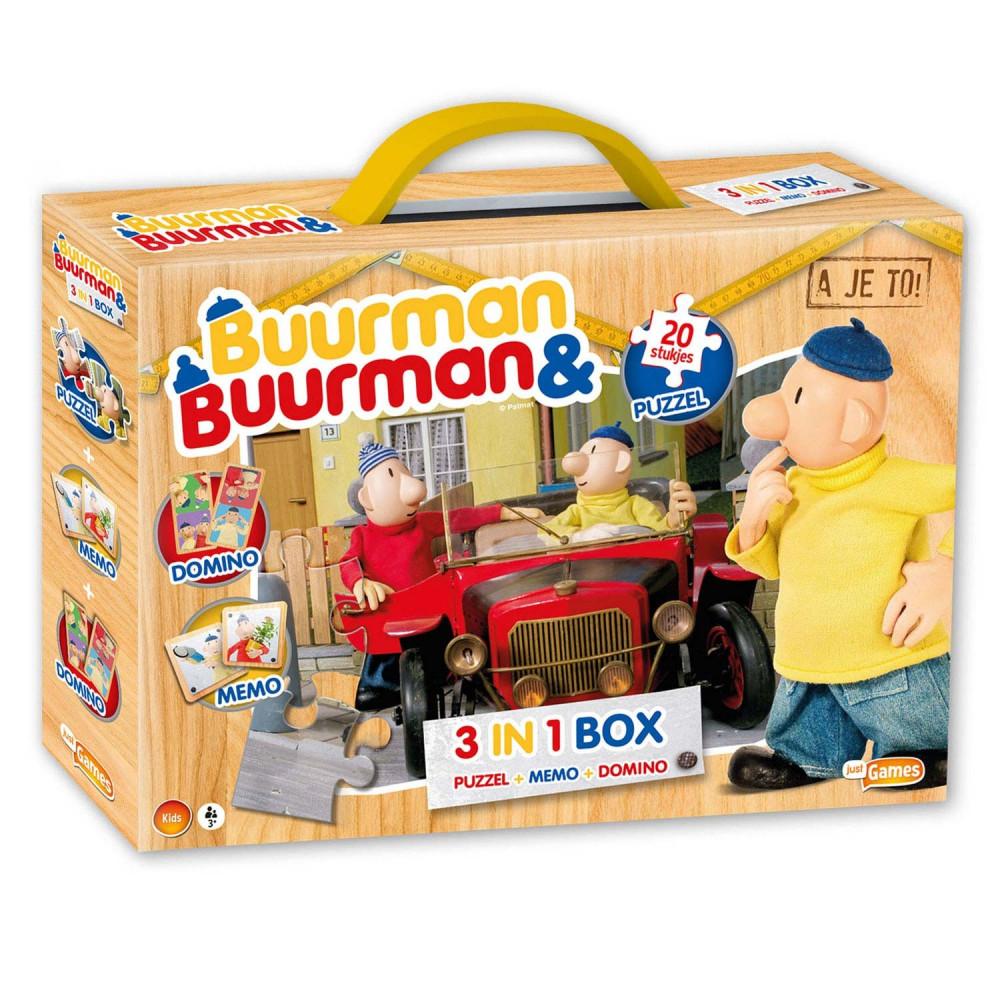 Buurman & Buurman Spellenbox, 3in1