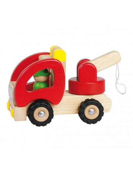 Houten Takelwagen
