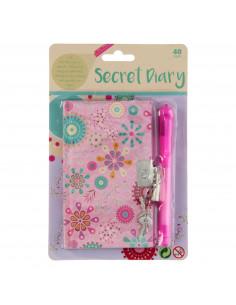 Geheim Dagboek met Geheimschrift Pen