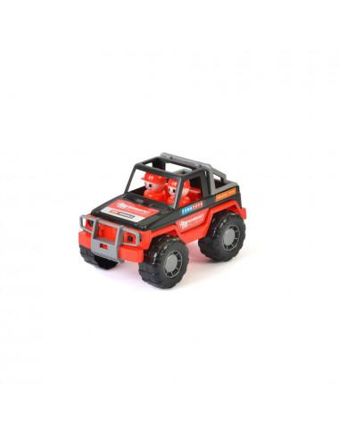 Mammoet Jeep met Speelfiguren