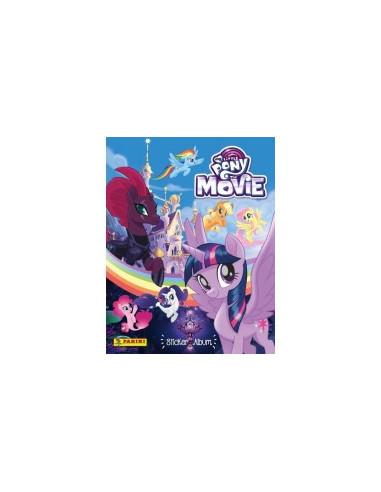 My Little Pony Movie Album + 6 stickerzakjes
