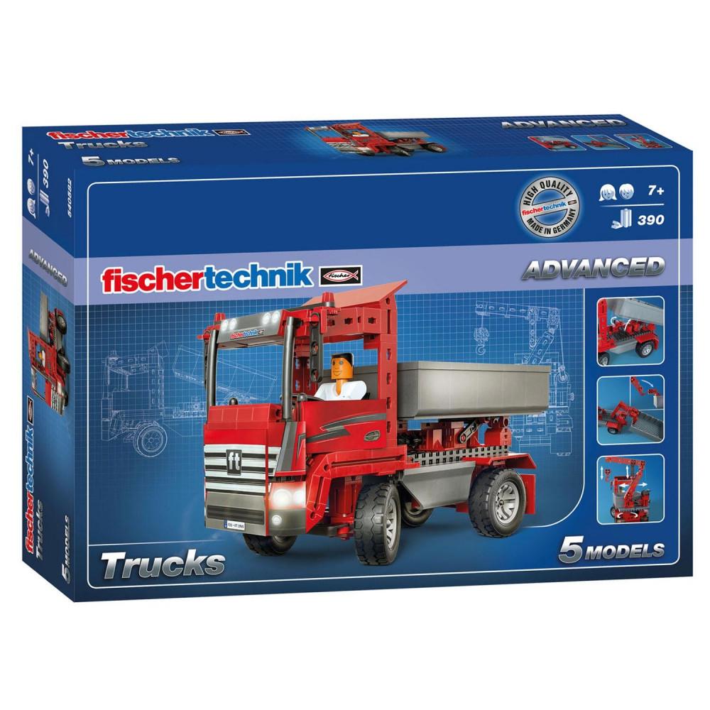 Fischertechnik Advanced - Werkvoertuigen, 390 dlg.
