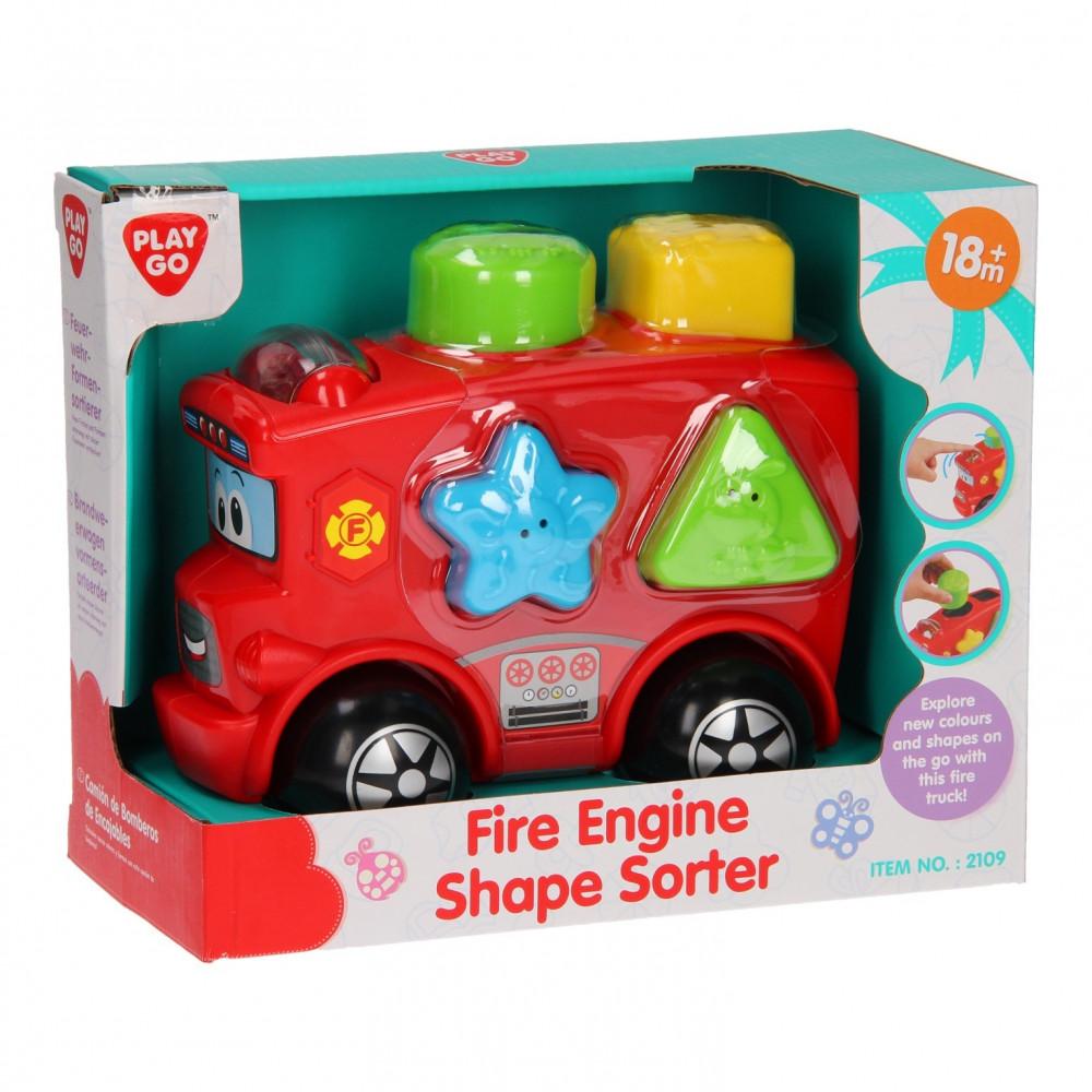 Playgo Vormensorteerder Brandweerwagen