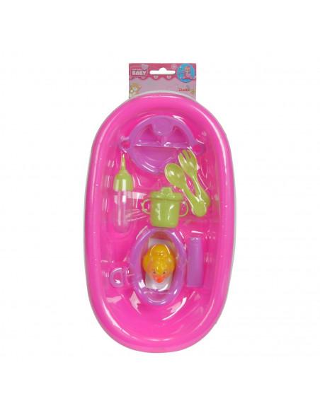 New Born Baby Poppenbadje met Accessoires