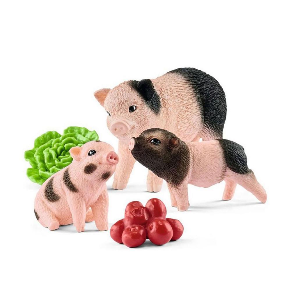 Schleich Minivarken en Biggetje