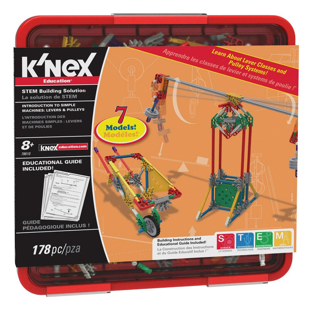 K'Nex Intro to Simple Machines - Levers and Pulleys