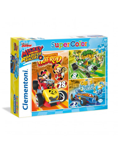 Clementoni Puzzel Mickey Roadster...