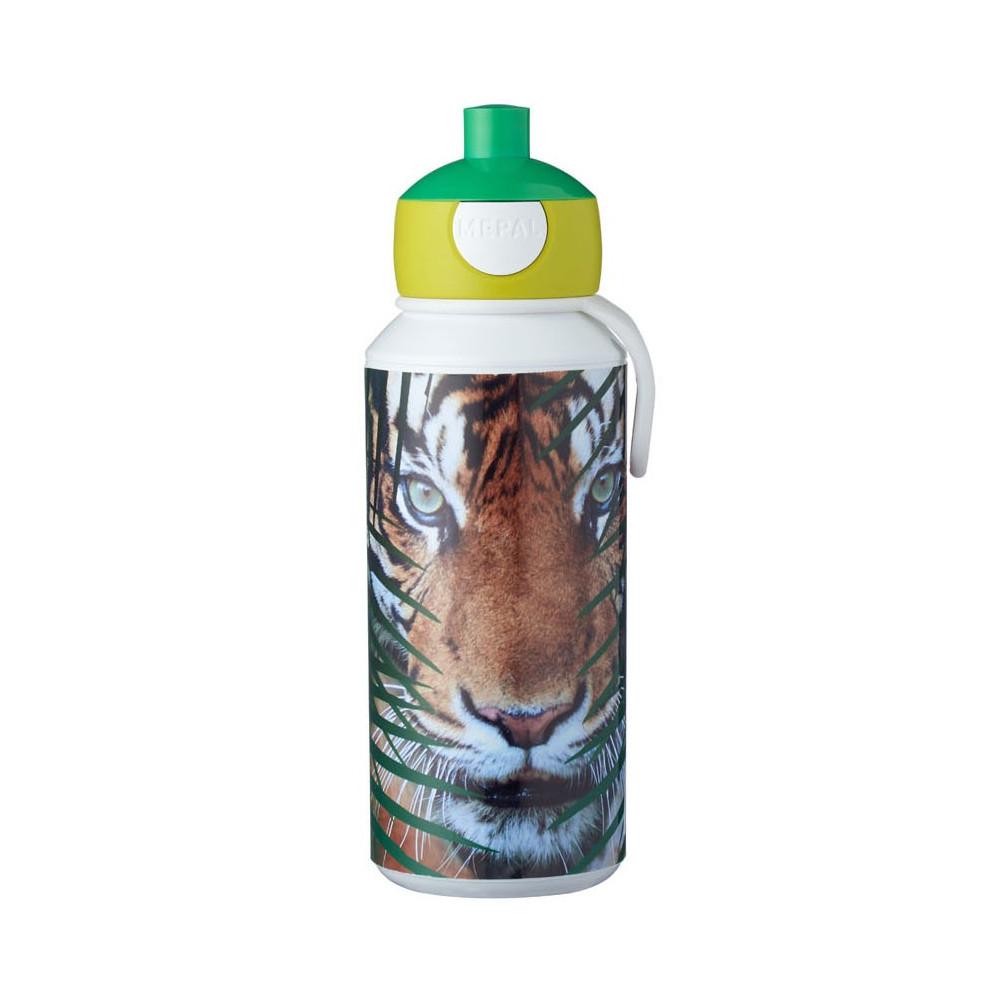 Mepal Campus Drinkfles Pop-up - Animal Planet Tijger