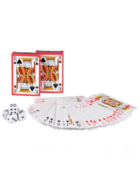 Speelkaartenset met Dobbelstenen