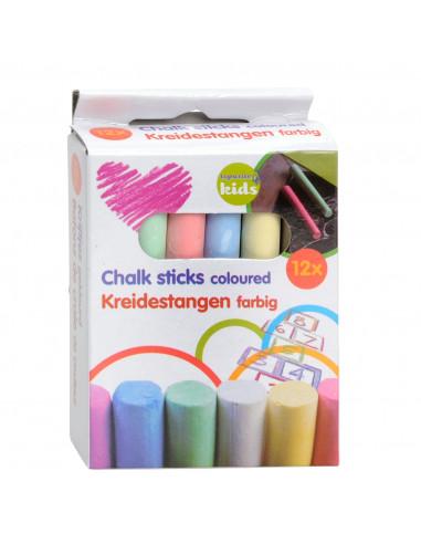 Gekleurd Schoolkrijt