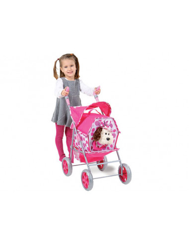 Poppenwagenset Pet stroller 5 in 1...